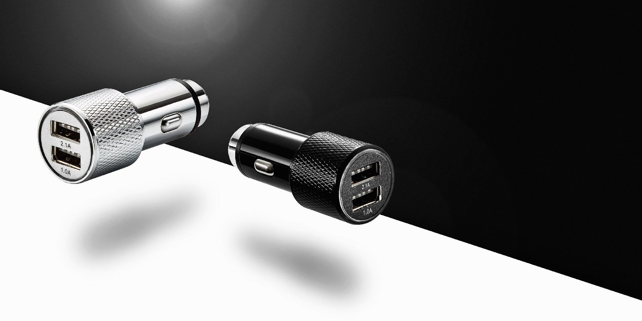Product photographer London - USB car charger for mobile phones and tablets